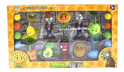 Imagen 1 de 2 de Plantas Vs Zombie Juego Personajes Zombies Juguetes Niños