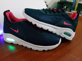 Botas Nike De Luces Led Niña Talla 32