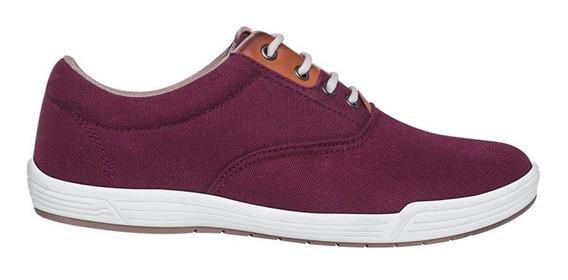 Tenis Casual Urban Shoes 01 Id 180766 Vino Para Hombre