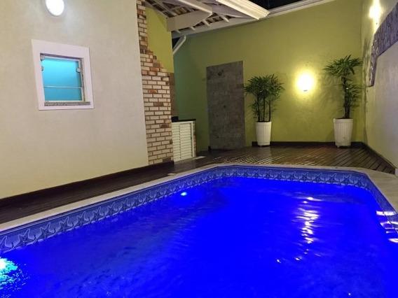 Casa Com Piscina 3 Dormitórios Na Praia Grande Ref 7761w