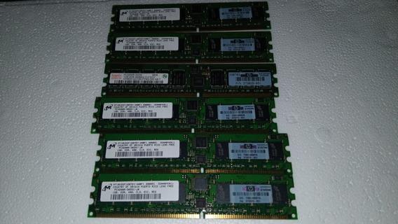 Memoria 1gb Pc3200r Ddr 400 Ecc Hp 373029-851 C/6 (2925)