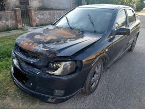 Chevrolet Astra Chocado No, Incendio Motor Con 08 Nafta Gnc