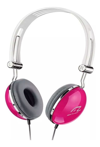 Fone Headphone Pop Rosa - Ph055