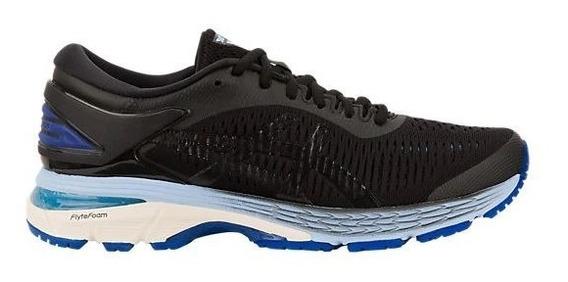 Zapatillas Asics Gel Kayano 25 Negro/azul Mujer Running