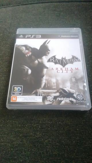 Batman Arkham City Semi Novo Original Ps3