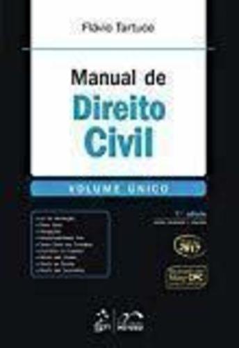 Livro Manual De Direito Civil - Volume Único Flávio Tartuce
