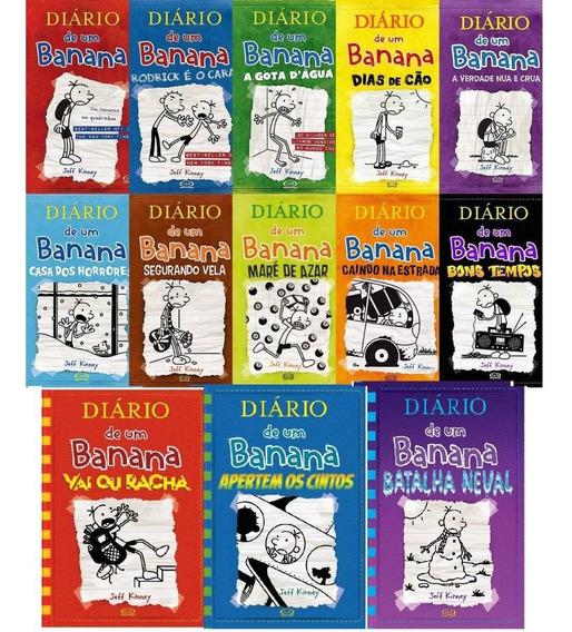 Coleção Diário De Um Banana - 13 Volumes