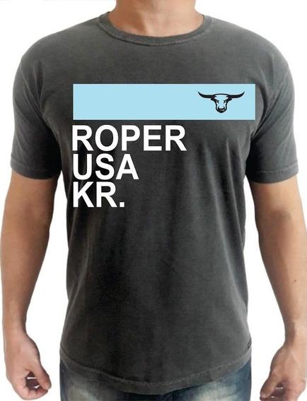 Camiseta King Roper Kansas Usa Team Roping Country King Farm