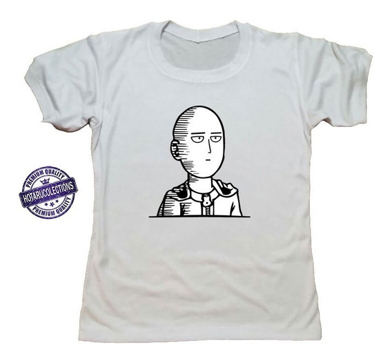 Remera One Punch Man Anime Mod 27 Hotarucolections