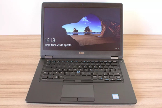 Notebook Dell Latitude 5480 Core I5 6300 16gb Ssd256gb Usb-c