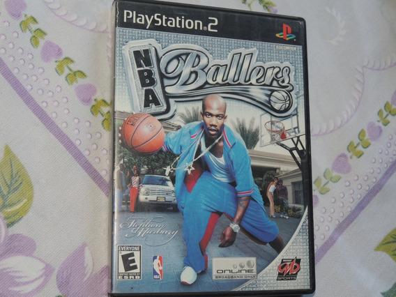 Nba Ballers - Basquete Jogo Ps2 Original + Brinde