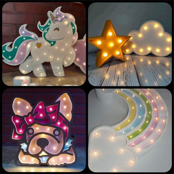 Figuras Luminosas 30cm Led Candybar Polifan Lampara