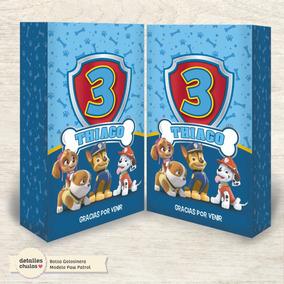 eed856473 Bolsas De Papel Paw Patrol - Souvenirs para Cumpleaños Infantiles ...