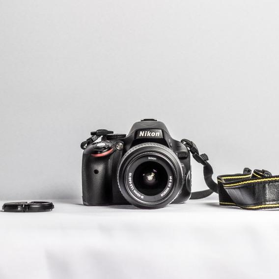 Câmera Nikon D5100 + 2 Lentes + Cartão 32gb + Bolsa