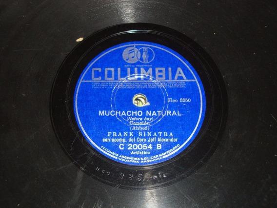 Disco Pasta 78 Rpm Frank Sinatra Columbia C Ver Numero