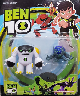 Muñecos Ben 10 Figuras Articuladas 4 Modelos Alien Omnitrix