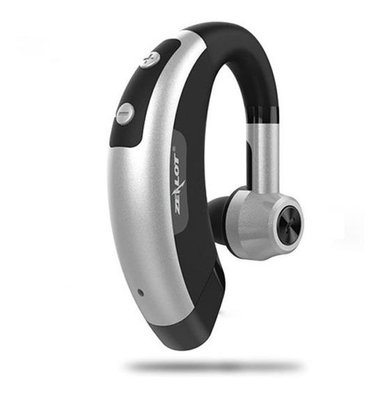 Mini Fone Ouvido Bluetooth Sem Fio Invisível Zealot E1 Prata