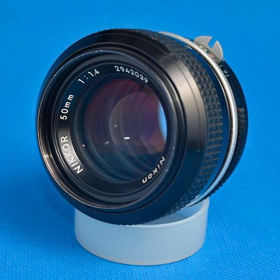 Lente Nikon 50mm 1.4 Ai Manual
