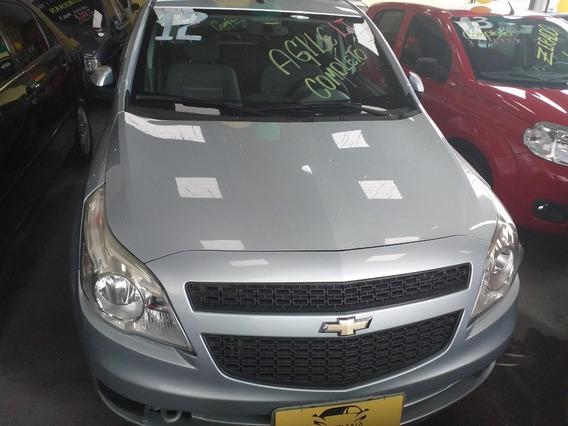 Chevrolet Agile Lt 1.4 Completo Super Novo Prata