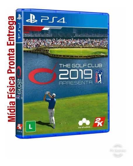 Jogo The Golf Club 2019 Ps4 Mídia Física Envio Imediato