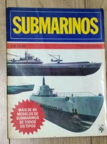 Livro Submarinos - Colorido - Ed. Abril