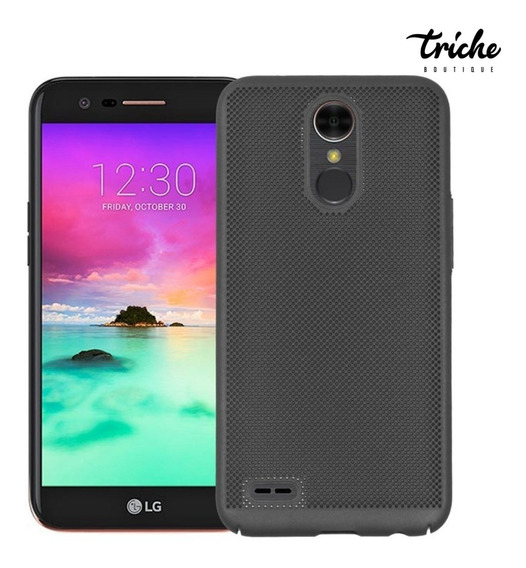 Funda Case Slim Elegante Puntos Colores Lg K10 2017