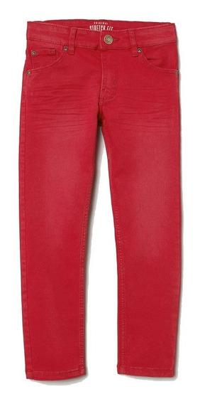 Jean Pantalon Nene Varon H&m Rojo Nuevo Importado C/etiqueta