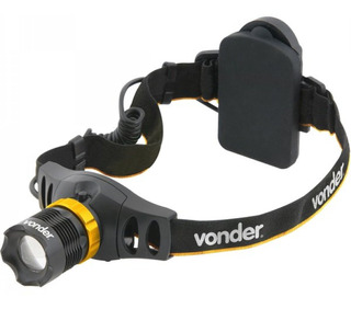 Lanterna Para Cabeça Superled Cree Llv 55 Vonder Bi