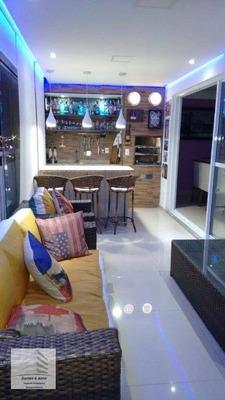 Apartamento No Condomínio Supera, Com 128 M², 03 Suítes, 03 Vagas E Aceita Permuta!! - Ap0505