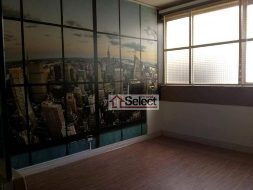 Sala Para Alugar, 95 M² Por R$ 3.400,00/mês - Barra Funda - São Paulo/sp - Sa0207