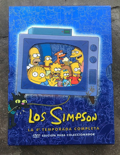 Los Simpsons 4ta Temporada Completa Dvd Edicion Coleccionist