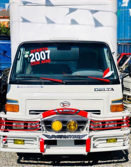 Super Oferta Camion Daihatsu Delta 2007 Cama Cortta 100%full