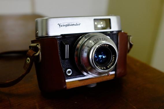 Câmera Analógica Voigtlander Vito C + Estojo Original