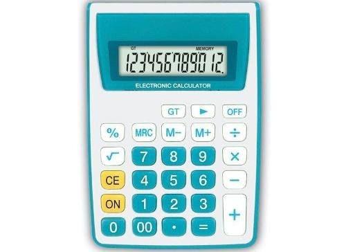 Calculadora 12 Dígitos Zt886 - Zeta