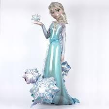 Globo Elsa Frozen Airwalkers 1 Pz