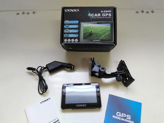 Gps Sate Modelo A-gd48 - Na Caixa Com Manual E Acessórios