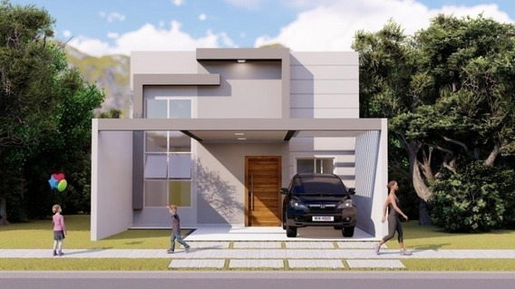 Casa Com 3 Dormitórios À Venda, 104 M² Por R$ 490.000 - Jardim Montreal Residence - Indaiatuba/sp - Ca7374