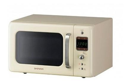 Microondas De 20 Litros Retro Daewoo Kor7rbes Con Garantia