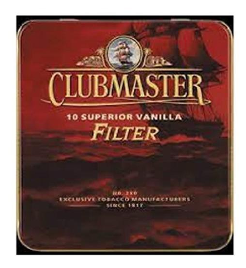 Clubmaster Superior Vainilla X10 Cigarros Cigarrillos Filter