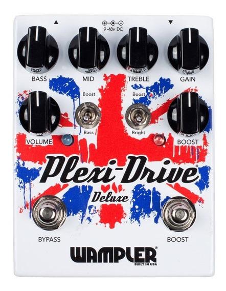 Pedal Wampler Plexi-drive Deluxe C/ Nf-e & Garantia
