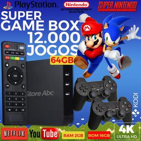 Vídeo Game Retro Multi Jogos 64gb Com 2 Controles