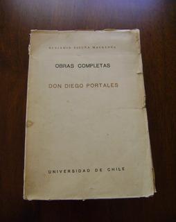 Benjamín Vicuña Mackenna / Don Diego Portales / Tomo Vi