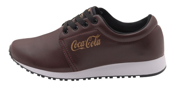 Tenis Coca Cola Feminino Corrida Caminhada Noite Esporte Fls