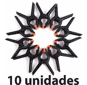 10 Grampo Alicate Garra Pinça Fundo Infinito Newborn 11cm