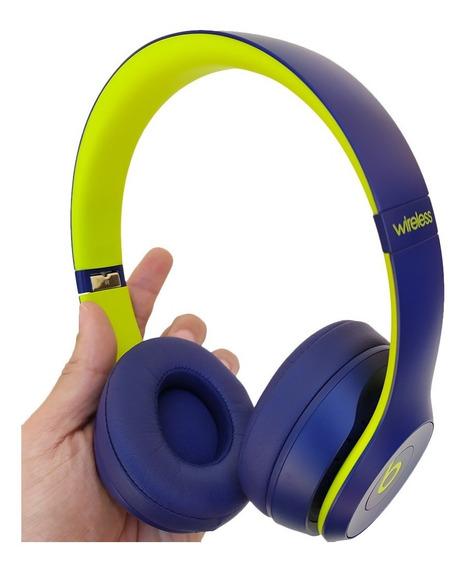 Fone Beats Solo 3 Wireless Pop Collection Indigo