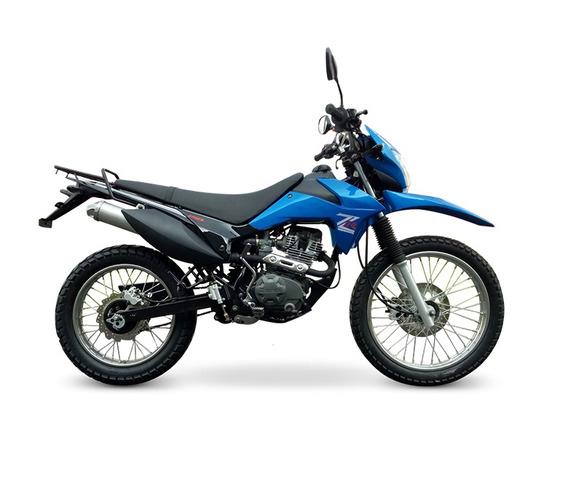 Zanella Zr 150 Lte 2019 0km Enduro Moto Okm Cross