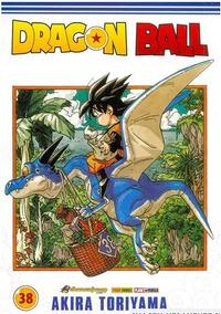 Mangá Dragon Ball - Volume 38 - Editora Panini