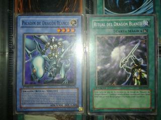 Cartas Paladin De Dragon Blanco+ritual Del Dragón Blanco