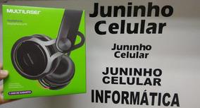 Fone De Ouvido Headphone Preto P2 Ph081 Multilaser Original
