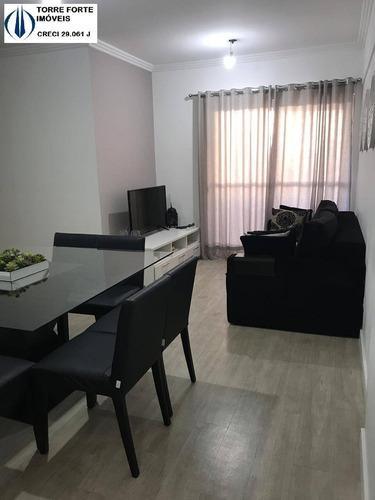 Imagem 1 de 15 de Lindo Apartamento Com  3 Dormitórios E 1 Vaga Na Mooca - 1447